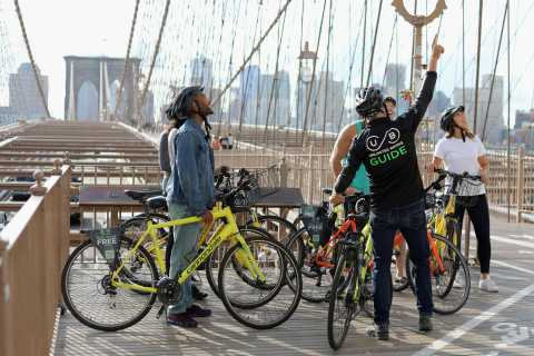 From Manhattan: 2-Hour Brooklyn Bridge Sightseeing Bike Tour