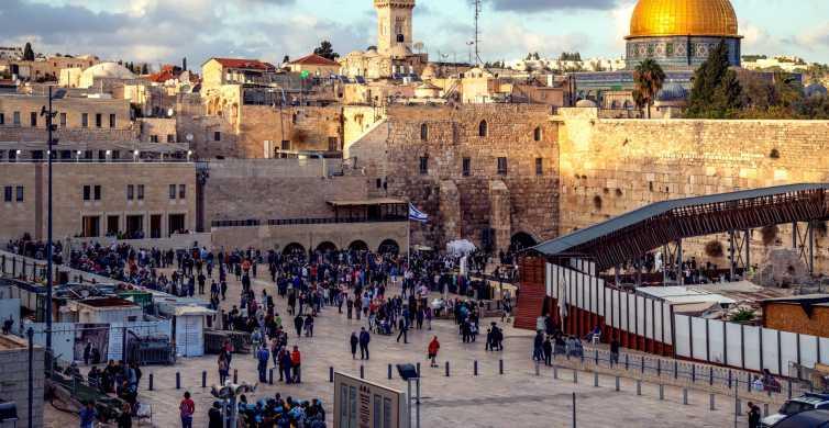Jerozolima: Całodniowe zwiedzanie najważniejszych zabytków