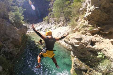 From Marbella: Canyoning in Guadalmina