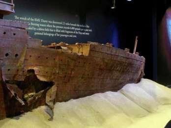Titanic: The Artifact Exhibition im Luxor-Hotel