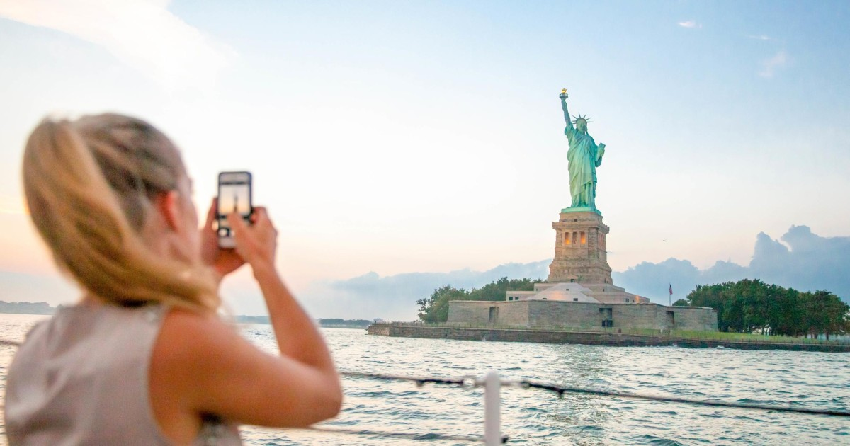 60-Minute Cruise Around the Statue of Liberty & Ellis Island - New York  City, United States   GetYourGuide