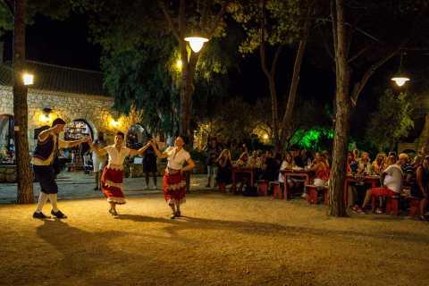 Zante: Cena con danza greca e vino