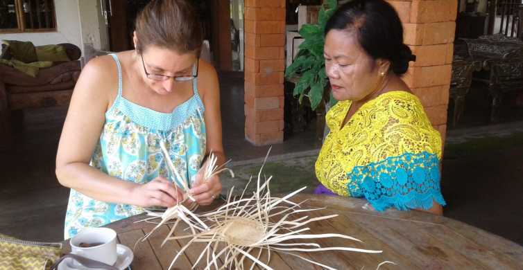 Ubud: Kurs Traditionelles Korbflechten