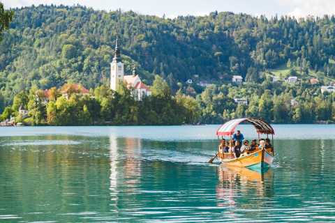 Visita al lago Bled y al castillo de Bled