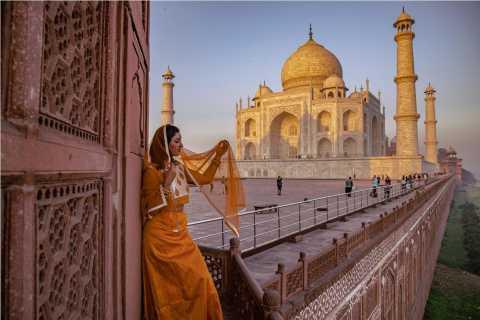 Delhi: Same Day Tour of Taj Mahal, Red Fort, and Baby Taj