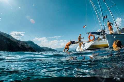Lago Como: experiencia en barco de vela