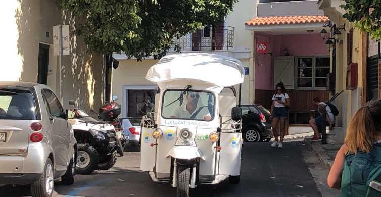 Athen: 1-stündige private Sightseeing-Tour mit dem elektrischen Tuk-Tuk