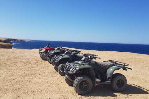 Hurghada: Sunset Quad Tour Along the Sea and Mountains