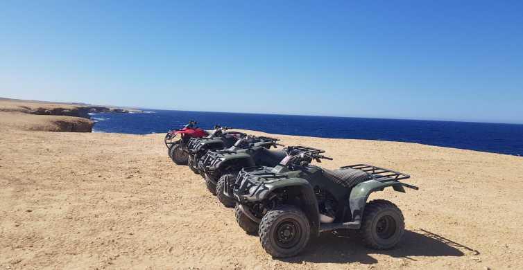 Hurghada: Excursão de Quadriciclo ao Pôr do Sol
