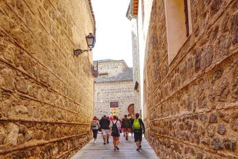 Desde Madrid: recorrido por el casco antiguo de Toledo con tirolina opcional