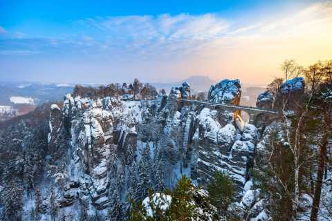 From Prague: Saxony and Bohemian Switzerland Walking Tour