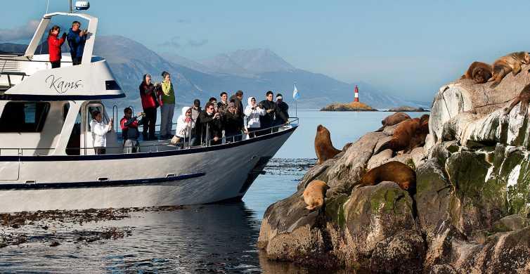 Ushuaia: Beagle Channel Boat Tour and Bridges Island Trek