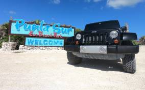 Cozumel: Jeep Adventure and Beach Snorkeling with Lunch