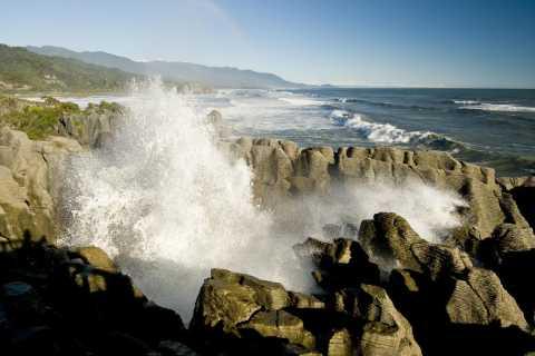 Greymouth: Full-Day West Coast Tour with Hokitika Gorge
