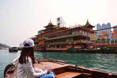 Hong Kong: excursão guiada por áudio em Aberdeen e visita a casa flutuante