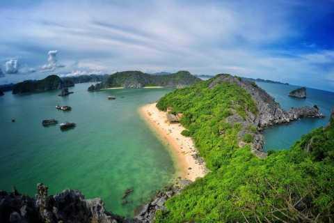 From Cat Ba: Ha Long Bay and Monkey Island Full-Day Cruise