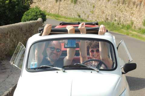 From Florence: Grand Tuscan Vintage Fiat 500 Tour