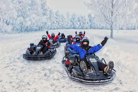 Rovaniemi: Ice Karting Open Race