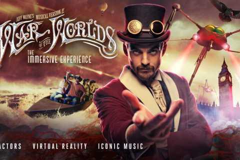 London: Jeff Wayne's War of The Worlds Immersive Experience