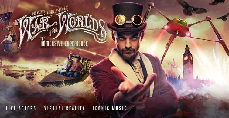 "London: Jeff Waynes ""War of the Worlds"""