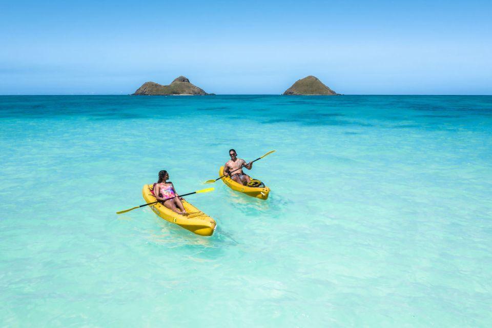 Kailua: Twin Islands Guided Kayak Tour