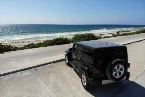 Cozumel: Mayan Ruins, Tequila, and Beach Jeep Tour