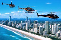 Costa Dourada: passeio de barco a jato e passeio panorâmico de helicóptero