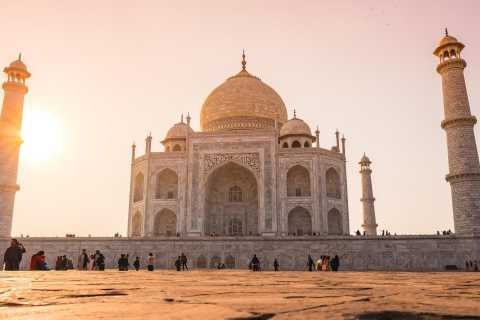 From Delhi: Taj Mahal Sunrise Private Day Trip