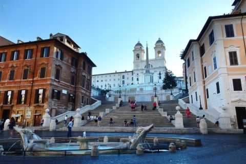 Rome: Early Morning Sightseeing and Piazzas with Breakfast