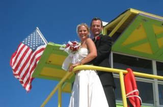 Miami: Strandhochzeit oder Erneuerung des Eheversprechens