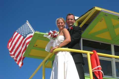 Miami: matrimonio sulla spiaggia o rinnovo dei voti
