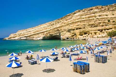 Heraklion: SUV Tour to Matala and Ancient Phaistos