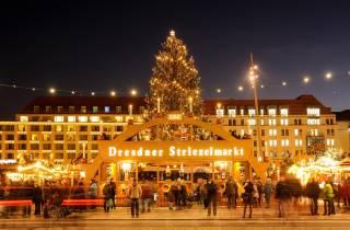 Ab Prag: Dresdner Weihnachtsmarkt & Sächsische Schweiz-Tour