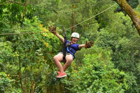 From Jaco: Canopy Tour Zip-Lining Adventure