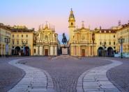 Turin: Geführte Stadtrundfahrt