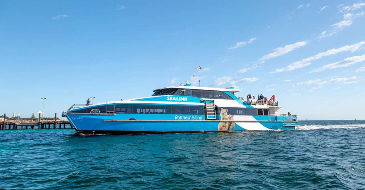 From Perth or Fremantle: Rottnest Island Ferry and Bus Tour