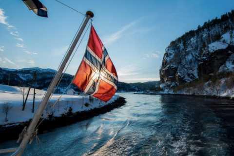 Vanuit Bergen: fjord-boottocht over Mostraumen