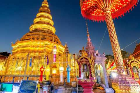 From Chiang Mai: Lamphun and Lampang Temples Tour