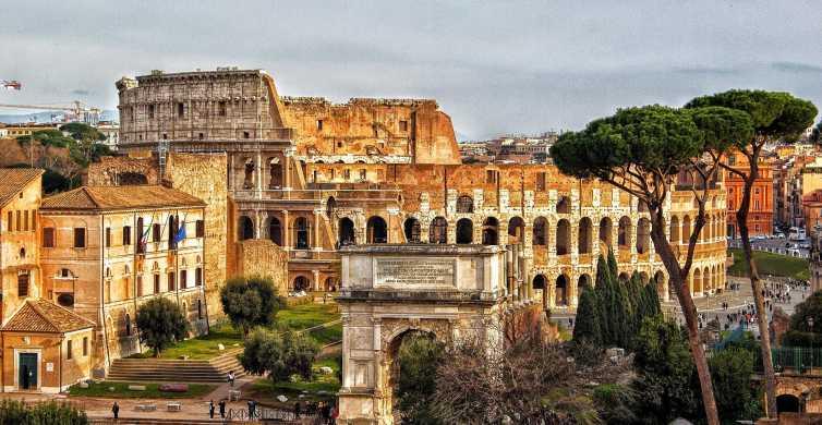 Roma: Excursão a pé pela Roma Antiga