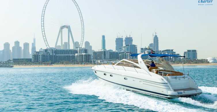 Dubai: Luxusyacht chartern ab Dubai Marina
