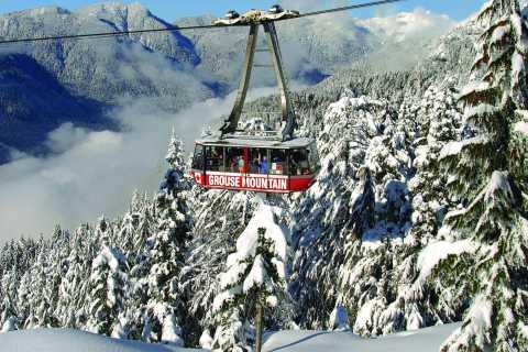 Vancouver: Entrébillet til Grouse Mountain