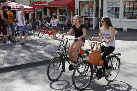 Amsterdam: Private Fahrradtour