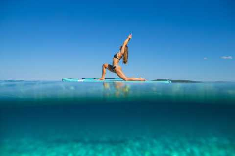 Pula: Stand-Up Paddleboard Yoga Classes at Morning & Sunset