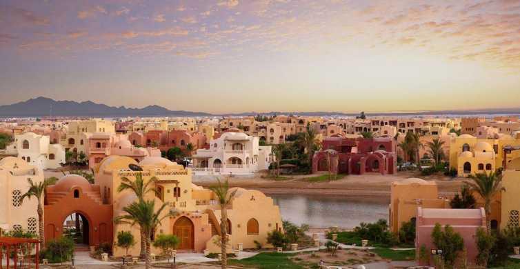 From Hurghada, Makadi or Soma Bay: El Gouna City Tour