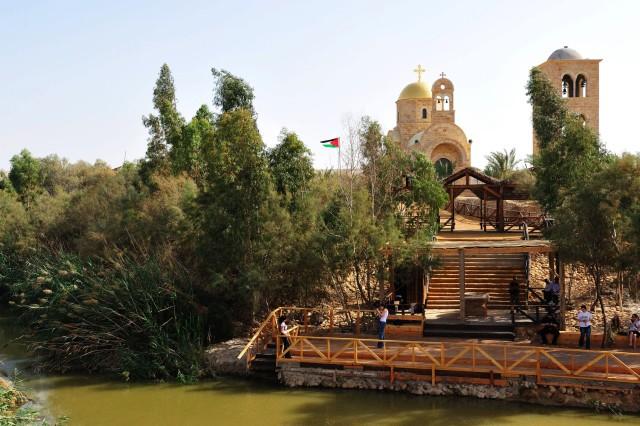 Betanië voorbij de Jordaan en de Irakese Amir-tour