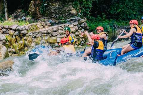 From Khao Lak: Rafting, Zip-line and Waterfall Adventure