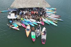 Cidade do Panamá: Lake Alajuela Stand-Up Paddleboard Tour