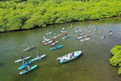 Da cidade do Panamá: excursão de um dia ao Caribe com stand-up paddle
