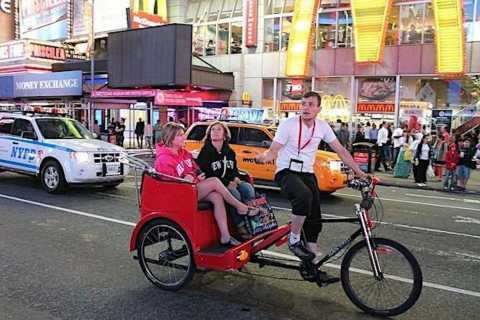 New York: Midtown Pedicab Rickshaw Tour
