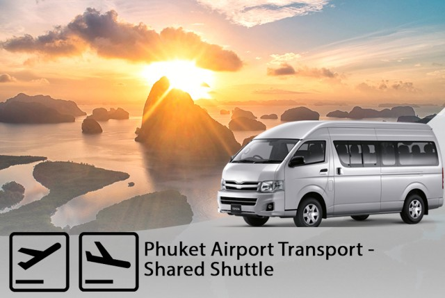 Phuket International Airport: 1-Way Shared Hotel Transfer